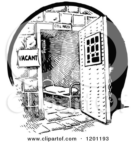 1201193-Vintage-Black-And-White-Vacant-Prison-Cell-Poster-Art-Print